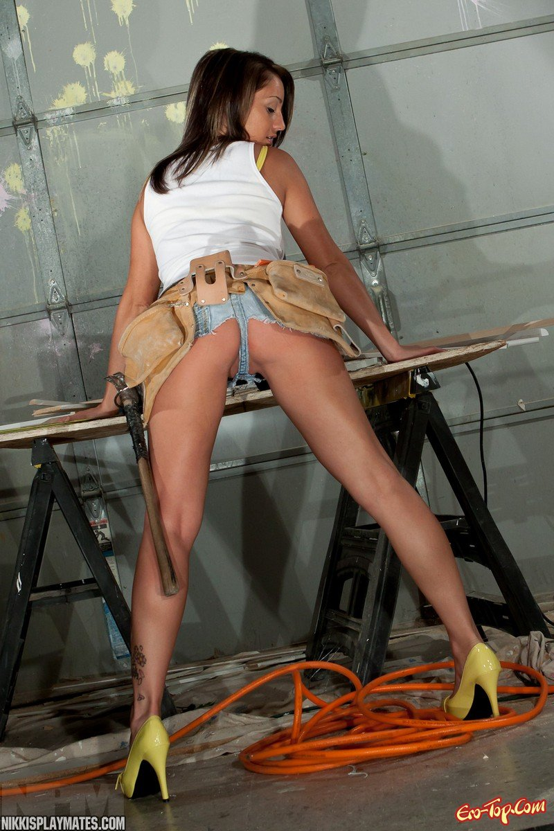 Construction worker naked girl — 9