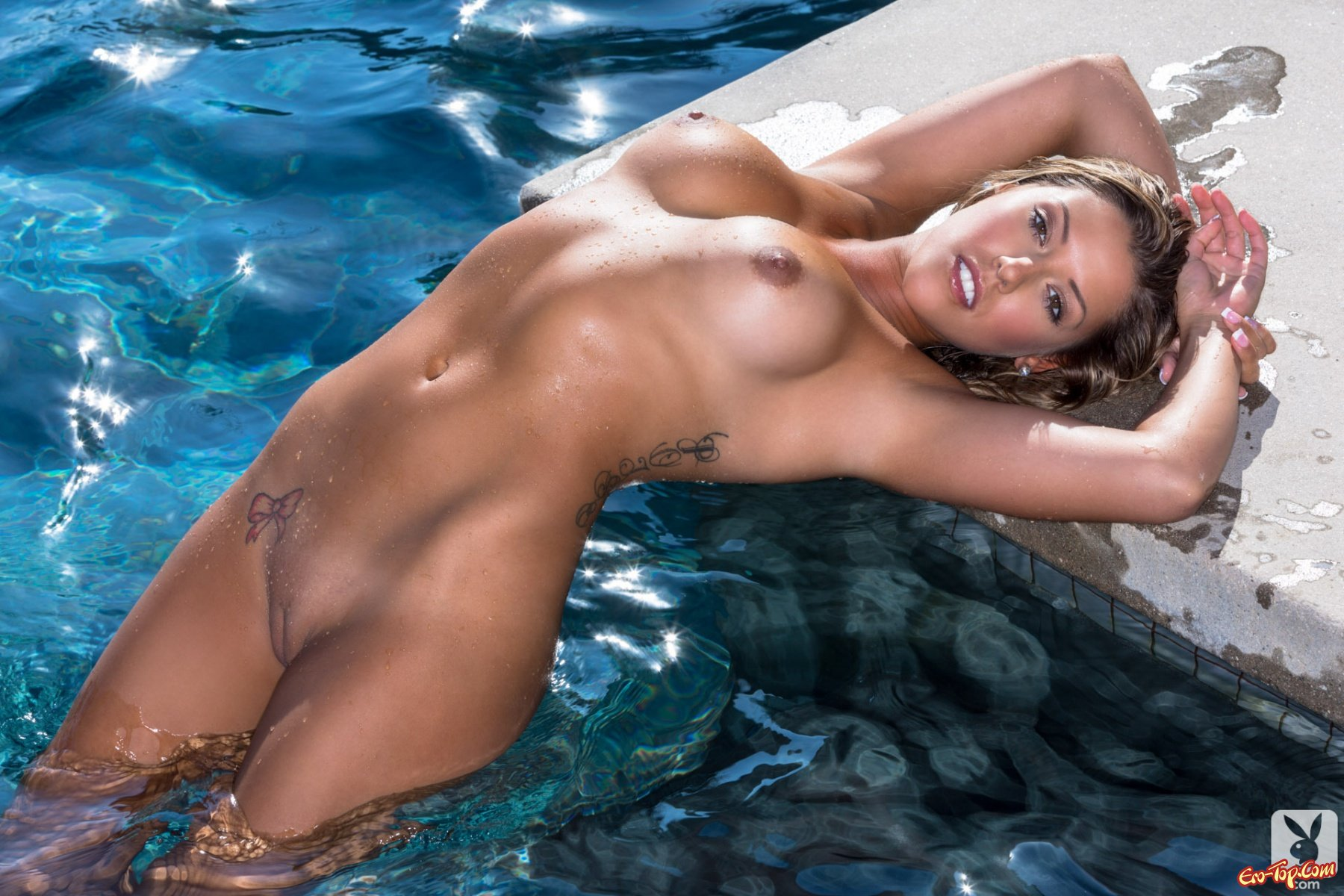Girls naked getting wet #10