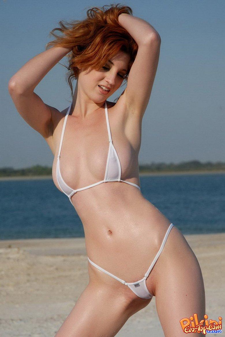 Sexy thong poses naked — img 4
