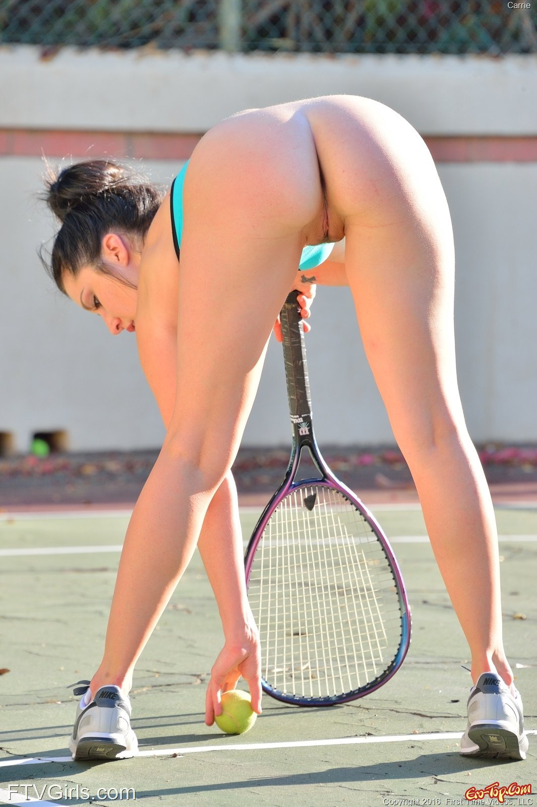 голые теннисистки без трусиков